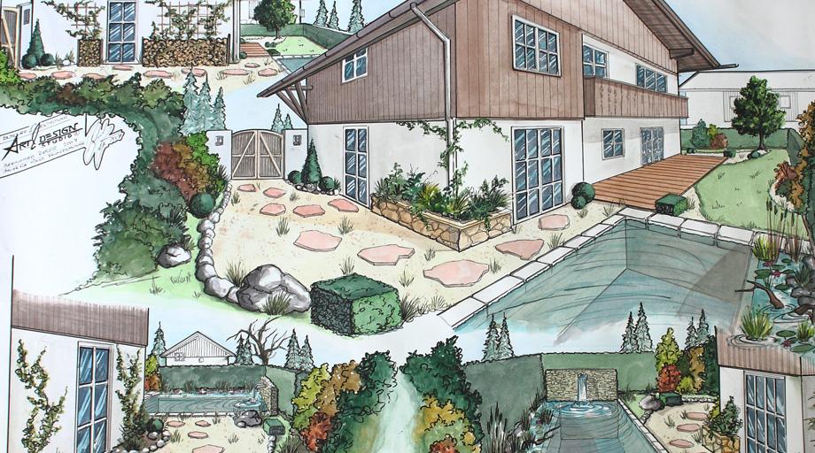 planung - garten und landschaftsbau - christoph körner - 82494, Garten Ideen