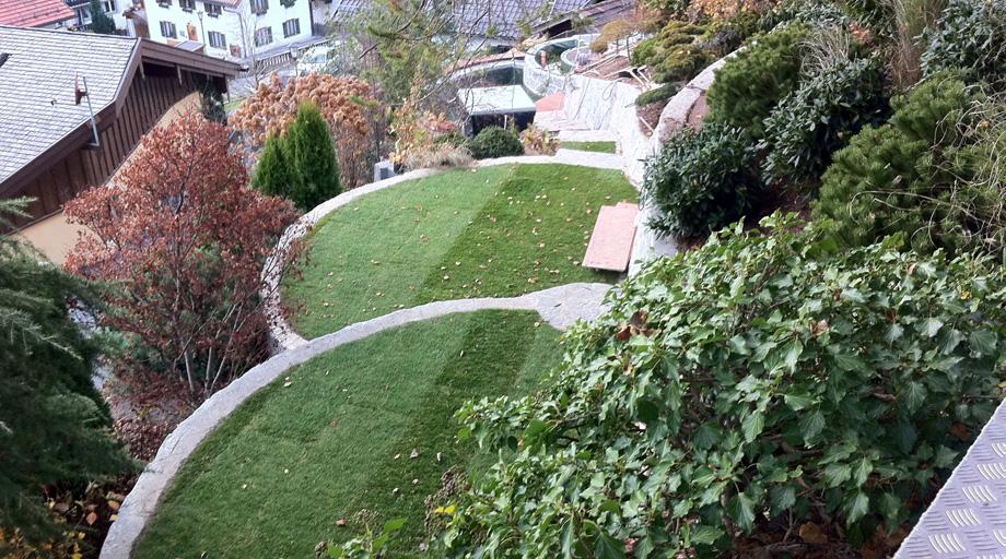 Referenzobjekt Hanggestaltung Garmisch-Partenkirchen - Garten und ...